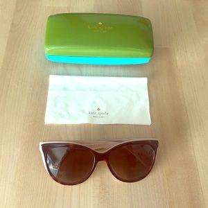 Kate Spade polarized sunglasses - tortoise shell